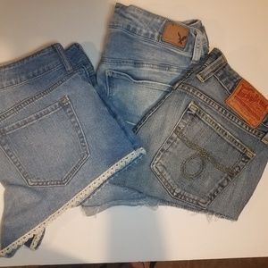 Jean Shorts Combo All size 4